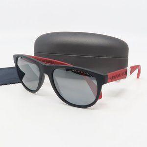 AX 4096S 8078/6G Armani Exchange Black/ Red Polar.